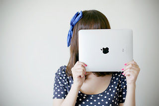 Ipad with flickr colors^^ by ♫muxu, on Flickr