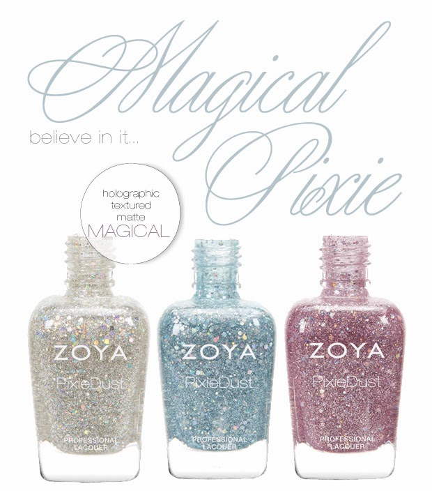 Naild it Nails: Zoya Magical Pixie Collection - Spring 2014 Zoya Magical Pixie