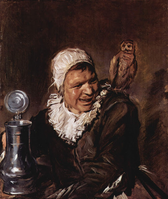 Frans Hals,Mabell Babbe,Baroque