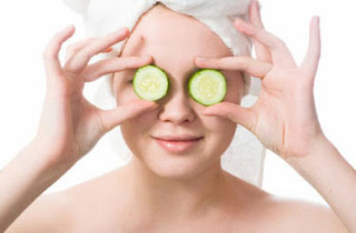 cucumber for dry eyes