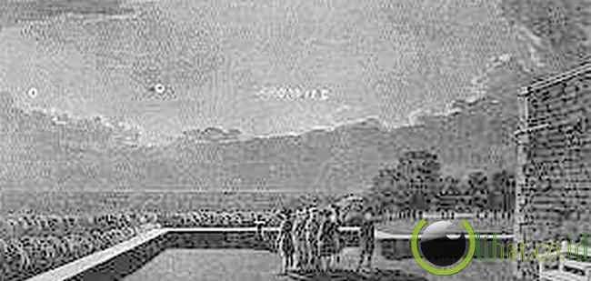 Kunjungan UFO-08/17/1783 Pada 9:45