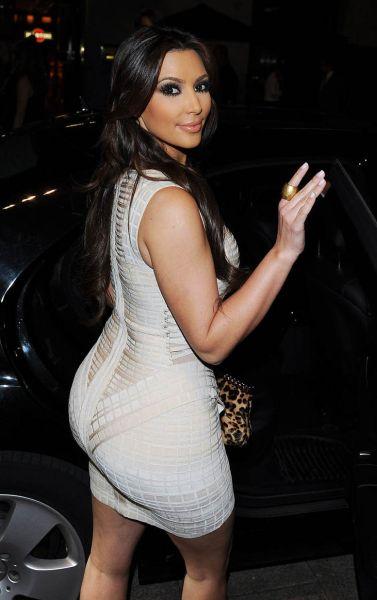 Kim Kardashian hot booty
