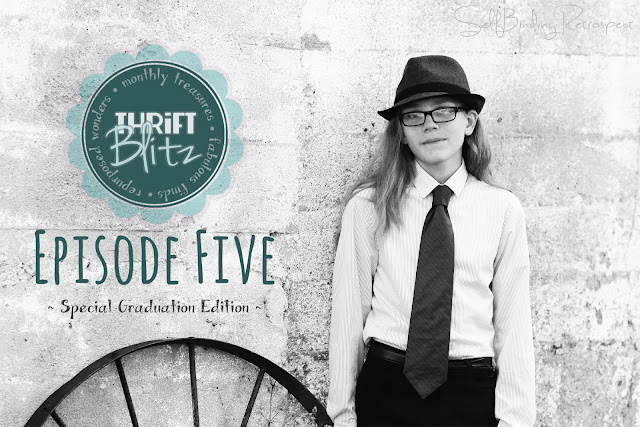 Thrift Blitz Episode Five Graduation Edition - SelfBinding Retrospect by Alanna Rusnak