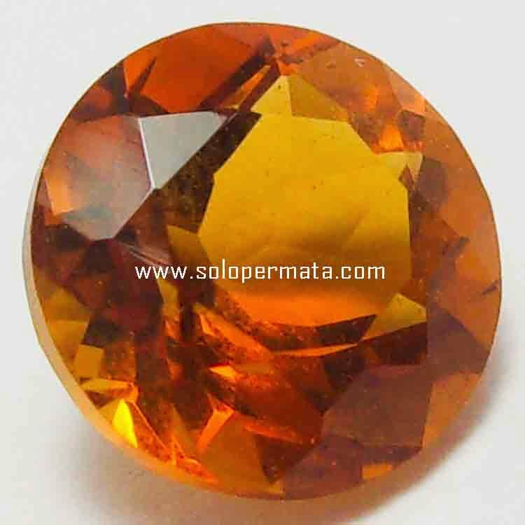 Batu Permata Orange Citrine - 26B06