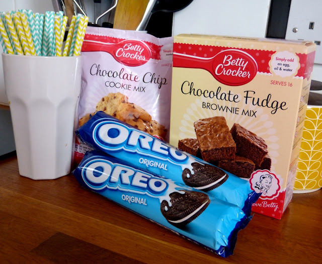 Slutty Brownie Ingredients