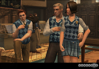 Preppies and Mandy from Bully Scholarship Edition