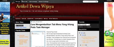 Side Iklan Artikel Dewa Wijaya