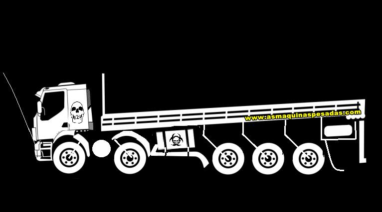 Adesivos De Caminhao Top ~ Desenhos para adesivos de caminhões! As Máquinas Pesadas