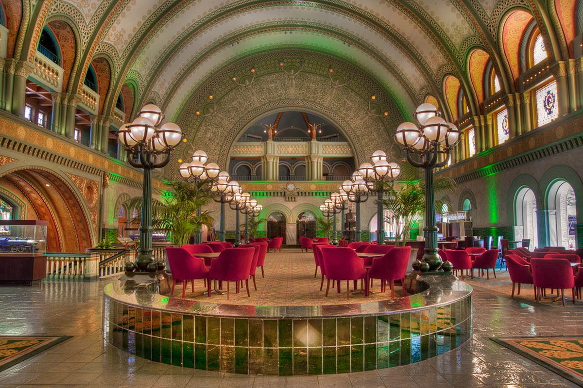Photo- Lobby of Union Station Hotel