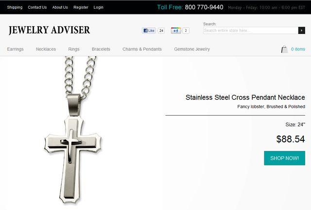 Religious Jewelry by JewelryAdviser.com