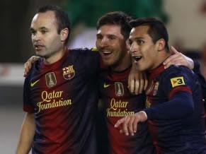 El Barcelona sigue en la punta