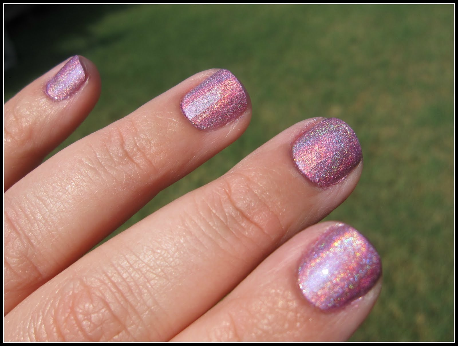 Manicure Post: Nfu Oh 64 - At the Pink of Perfection