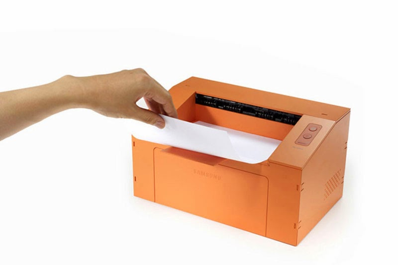 impresora Origmai de cartón reciclado