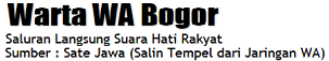 Warta WA Bogor