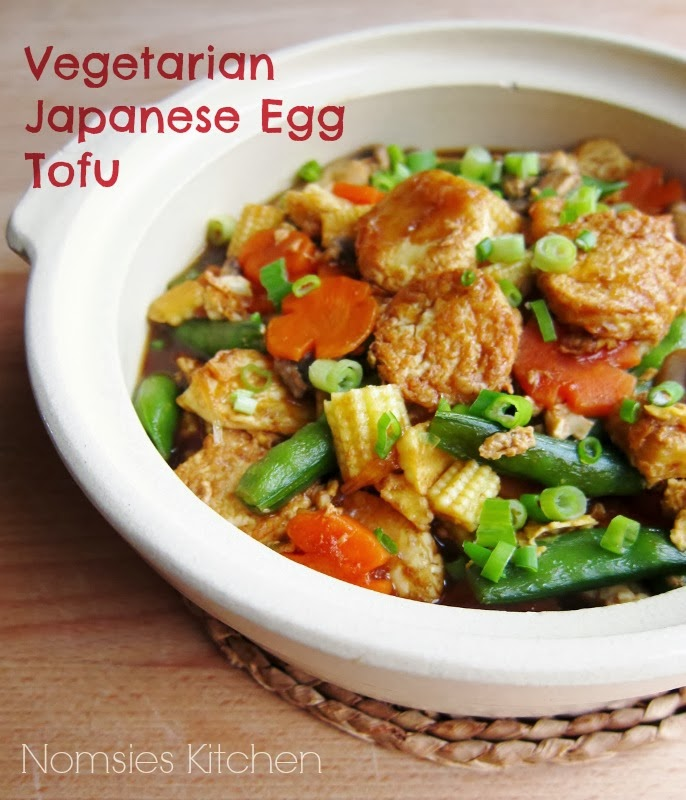 Nomsies Kitchen: Vegetarian Japanese Egg Tofu