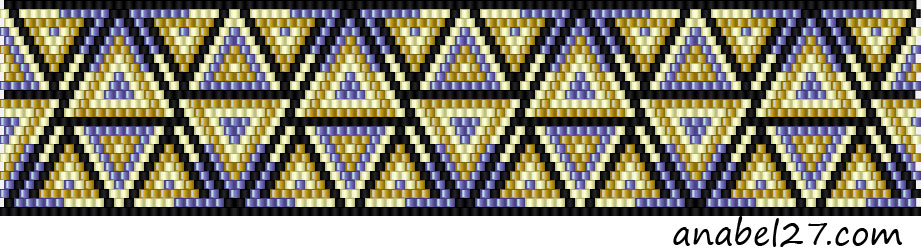 free beadpatterns brick stich