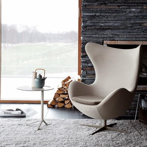 Sillón Egg, Arne Jacobsen.