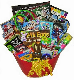 Click here to purchase a Super Duper Hero Easter Basket at Amazon!