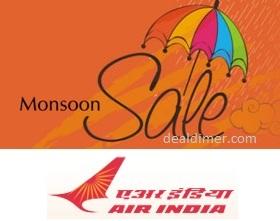 AirIndia Monsoon Sale