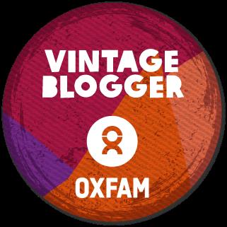 Oxfam Vintage Blogger
