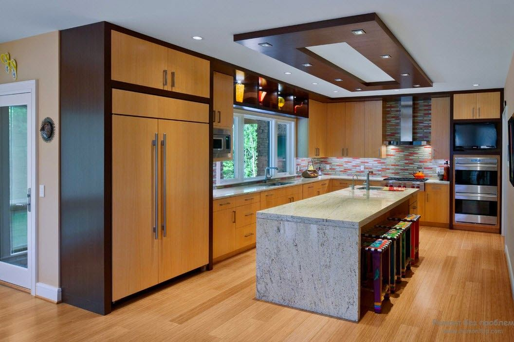 False Ceilings Kitchen Design Ideas Renovations Photos. Home Styling
