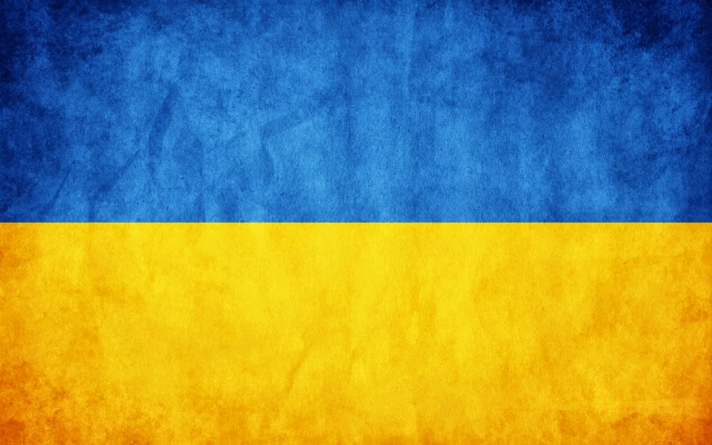 National Flag of Ukranie