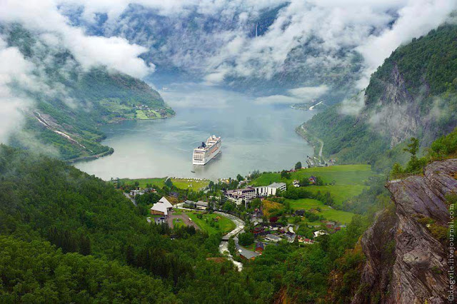 Geiranger, A Village in Norway