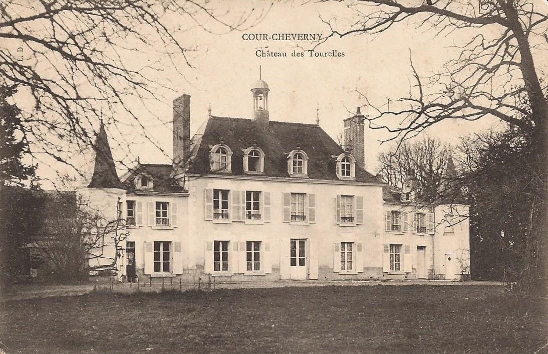 Château des Tourelles - Cour-Cheverny