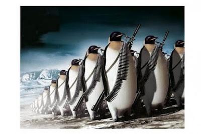 Пингвины атакуют