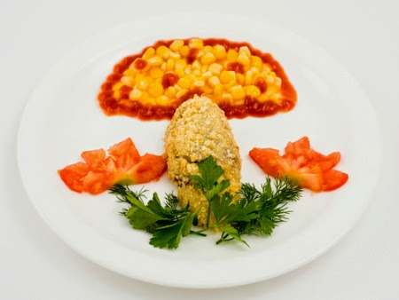 ide makanan lucu untuk anak susah makan ~ nugget berbentuk jamur