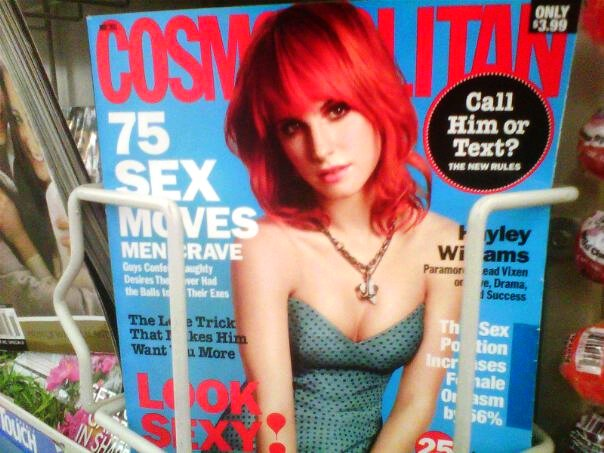 hayley williams cosmopolitan article. images hayley williams cosmo
