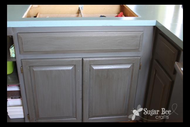 Kitchen Cabinet  Reveal!! (thanks Rustoleum!)  Sugar Bee Crafts