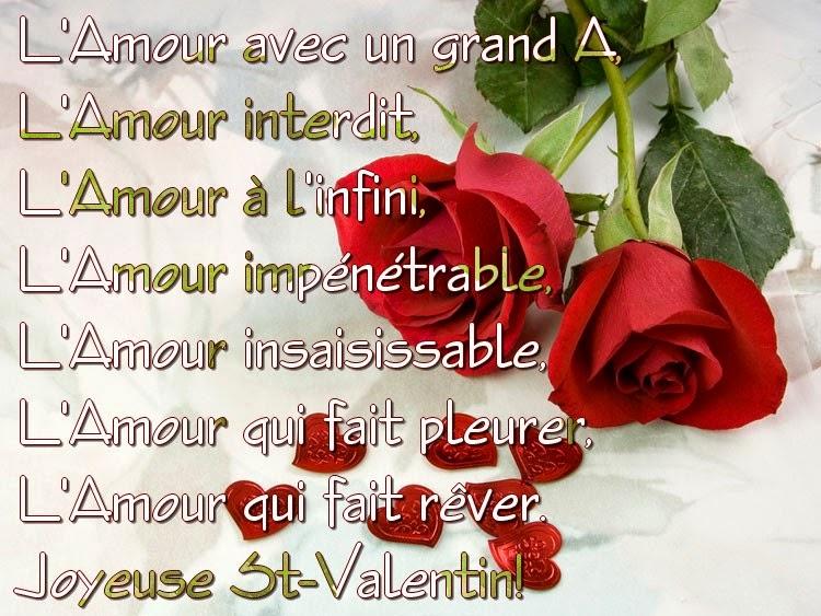 Poeme pour saint valentin homeezy - Poeme d amour pour la saint valentin ...