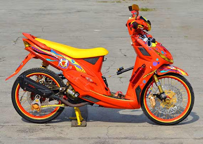 mio sporty modifikasi