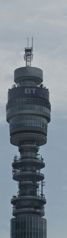 London radio tower