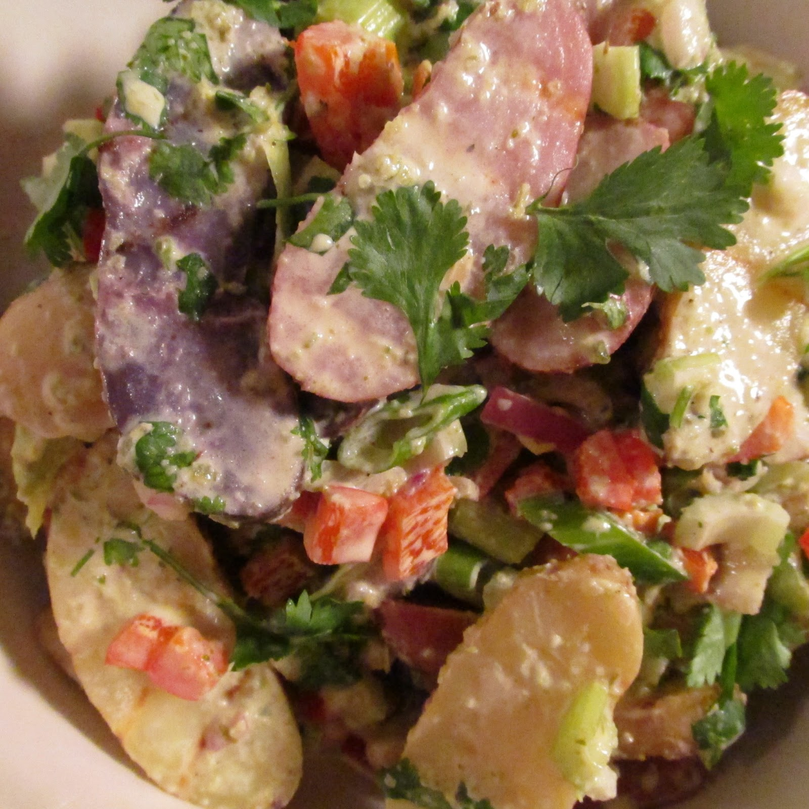 Creamy Fingerling Potato Salad (Vegan) Recipes — Dishmaps