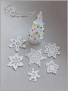 украшение снежинка