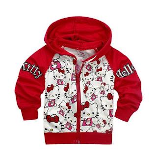 Model Jaket Hello Kitty Terbaru Untuk Anak Perempuan