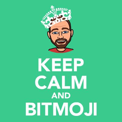 אני משתמש ב-Bitmoji
