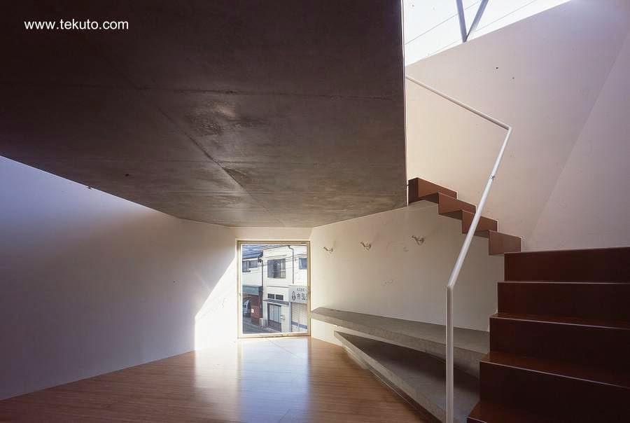 Interior de la casa diseñada como una gema