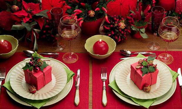 decoracao festa natal:Festa, Sabor & Decoração: Mesa de Natal