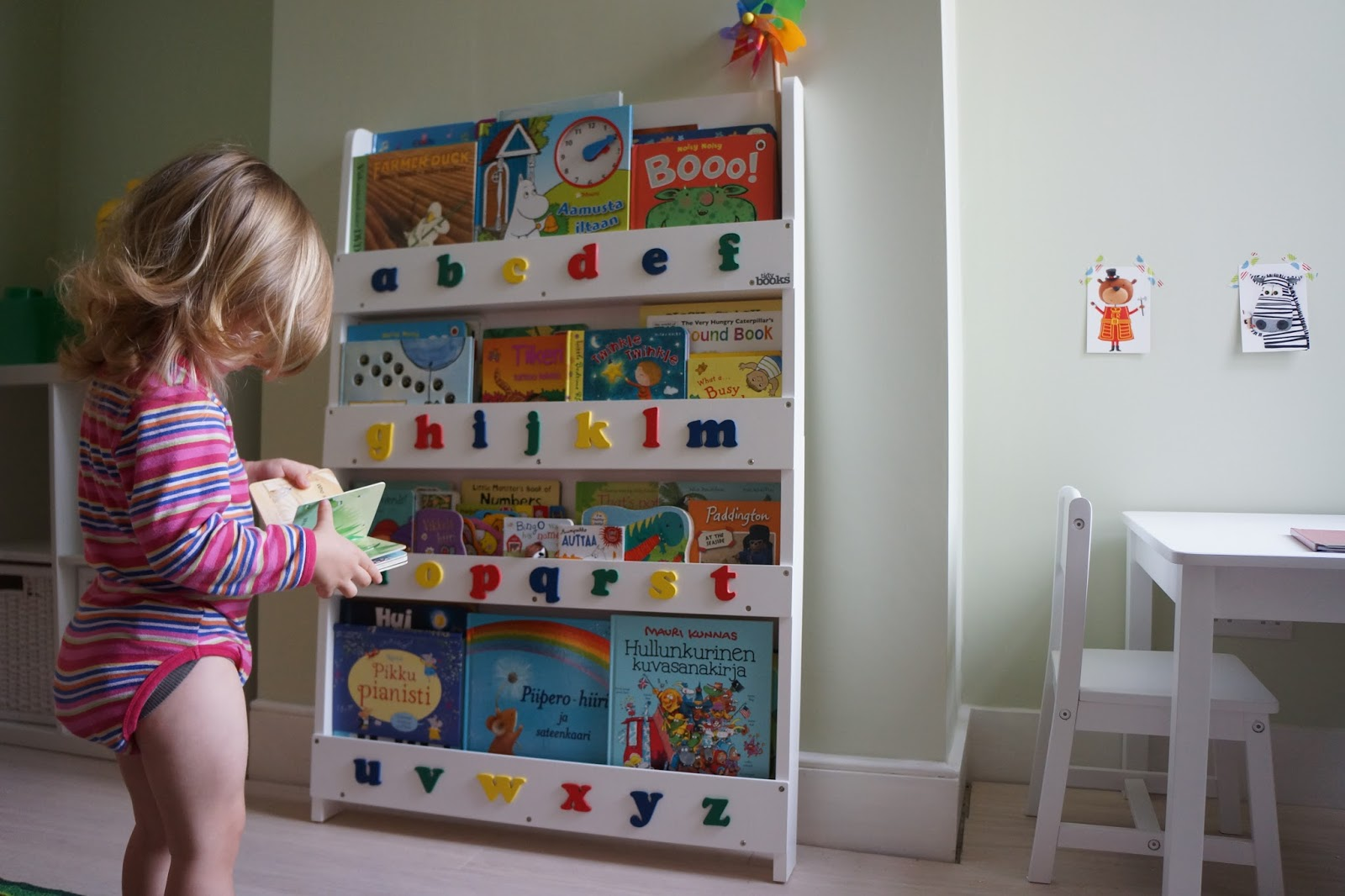 tidy books bookcase toddler reading