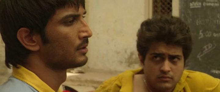 Screen Shot Of Hindi Movie Kai po che 2013 300MB Short Size Download And Watch Online Free at worldfree4u.com