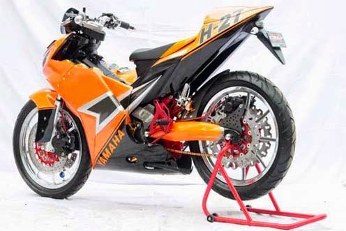 Modifications Yamaha Jupiter MX