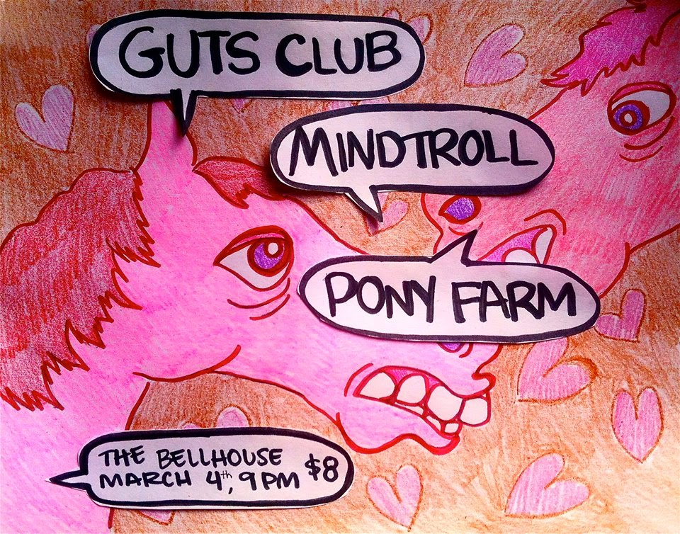 Guts Cllub @ Bell House 3/4/15