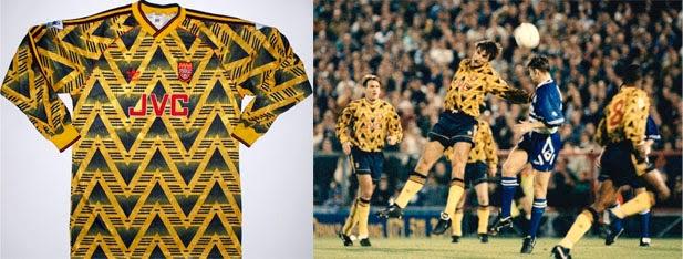 Las camisetas de fútbol más arriesgadas