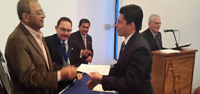 Juramentado Virgilio Castillo como nuevo presidente de la Apula