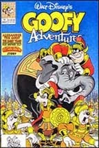 Goofy Adventures  # 14 Cover  pencils by; Keith Tucker