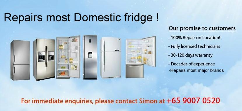 Fridge repair Refrigerator repair Singapore