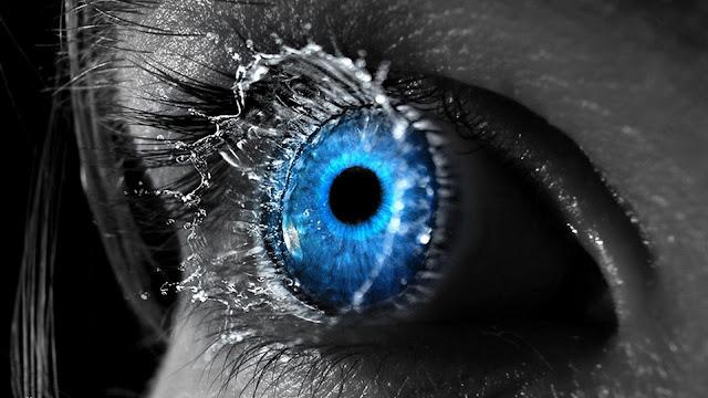 Close Up Eyes Splash Selective Coloring Colorsplash HD Wallpaper